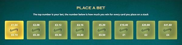 Inzetten casino solitaire voor echt geld